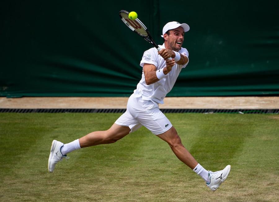 Roberto Bautista-Agut Wimbledon 2019
