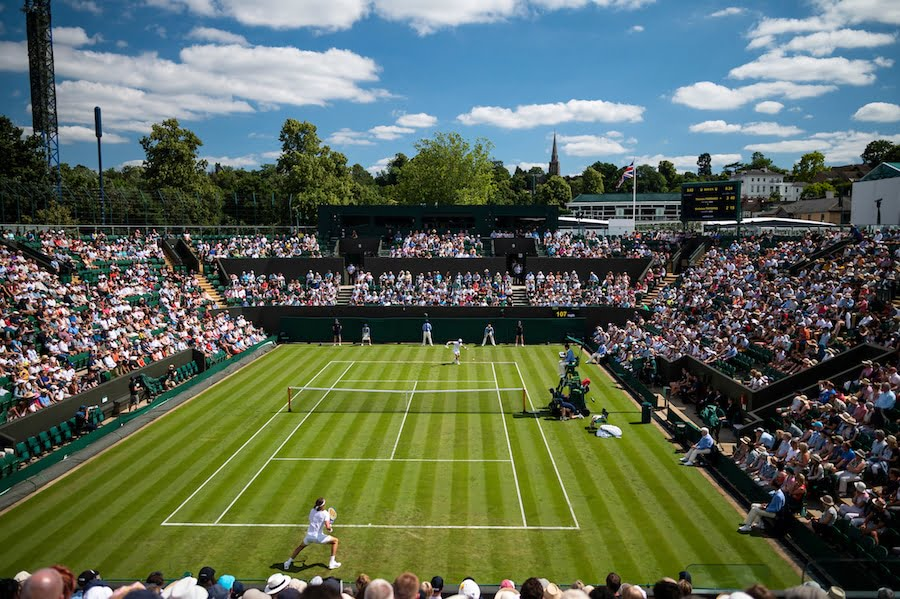 Wimbledon 2019 green grass slow