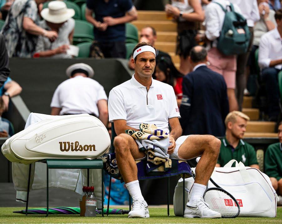 Roger Federer Wimbledon 2019