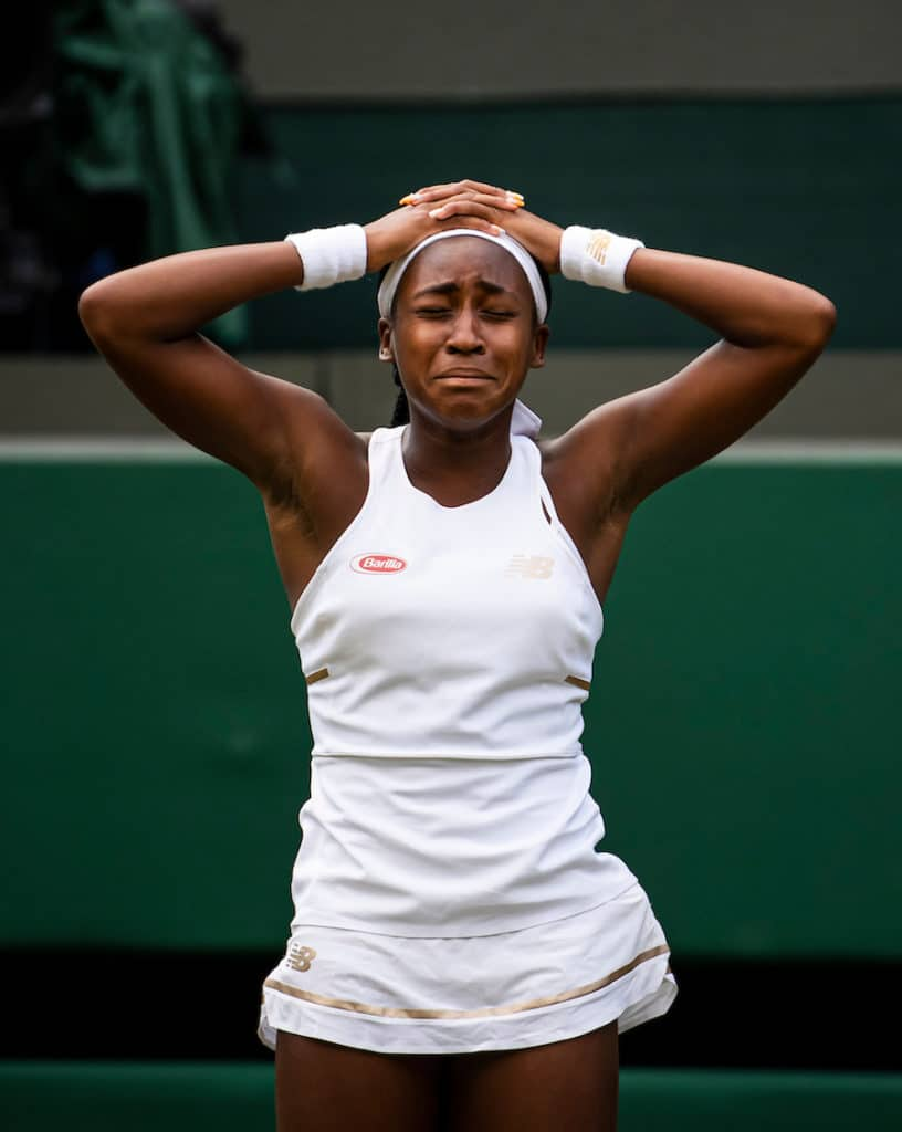 Cori Gauff is the 15 year old story of the week at Wimbledon 2019