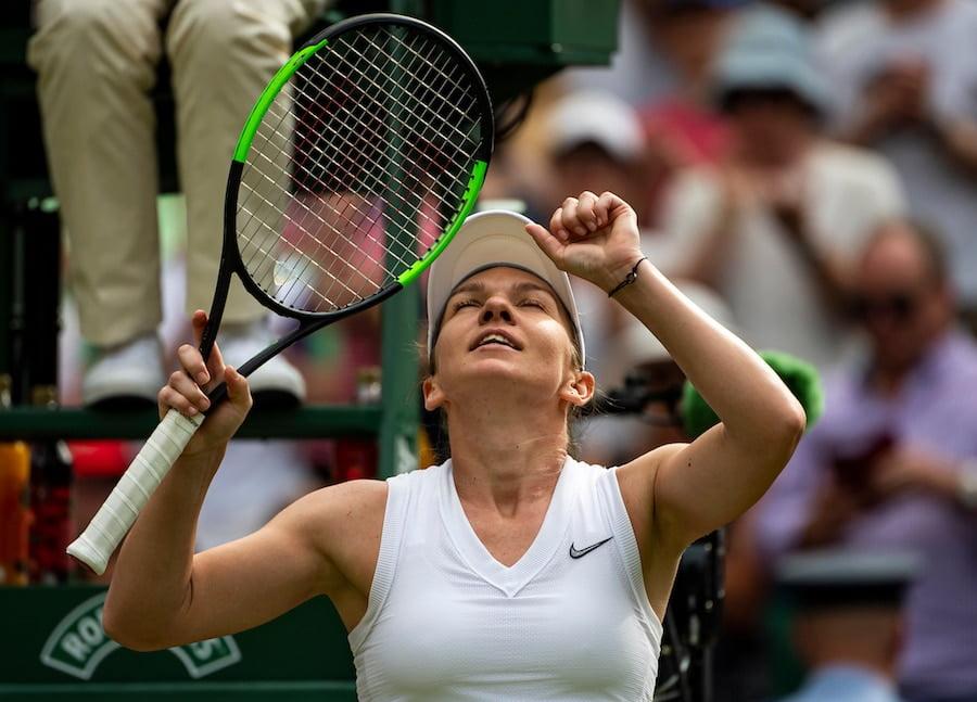 Simona Halep Wimbledon 2019