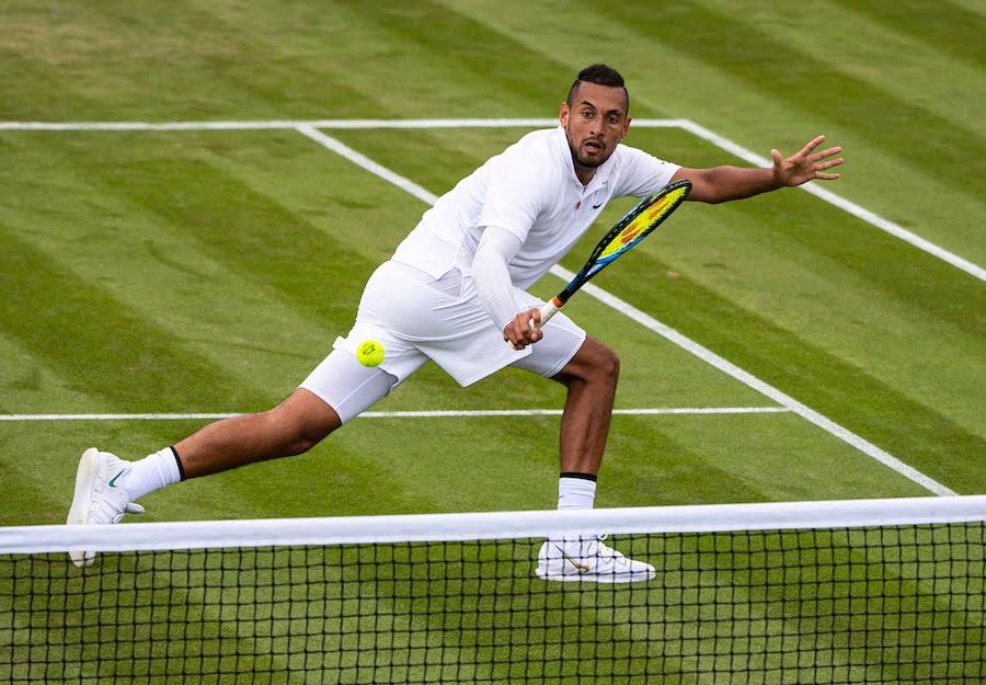 nick Kyrgios Wimbledon 2019