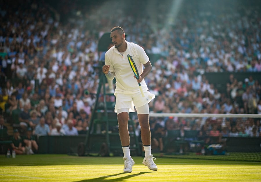 Nick Kyrgios Wimbledon 2019 Rafa Nadal