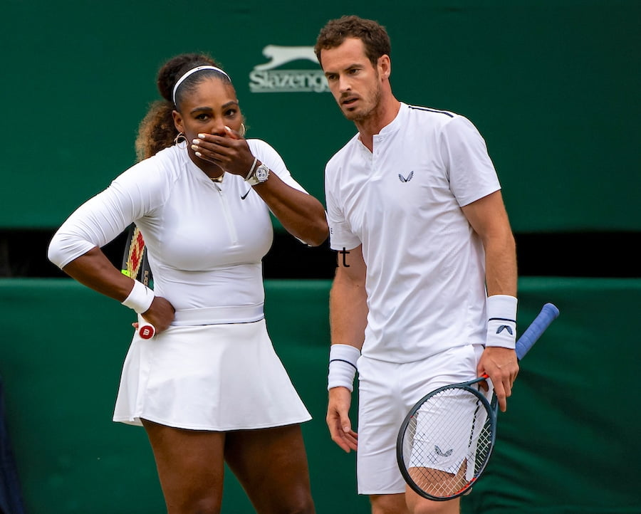 Serena Williams Andy Murray Wimbledon 2019