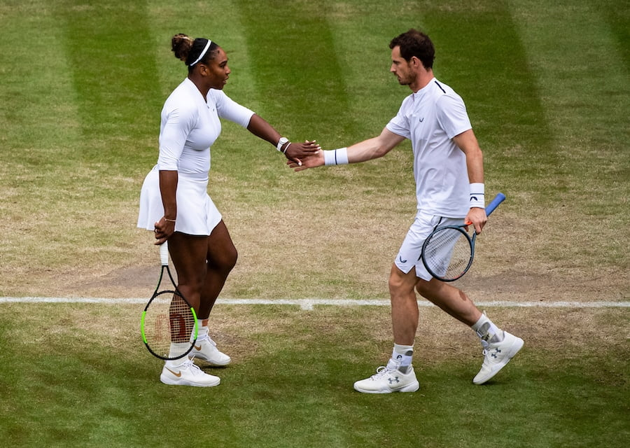 Andy Murray Serena Williams Wimbledon 2019