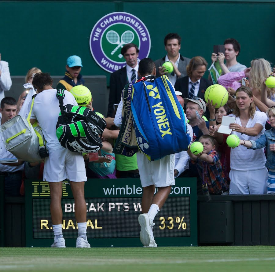 Nick Kyrgios Rafa Nadal Wimbledon