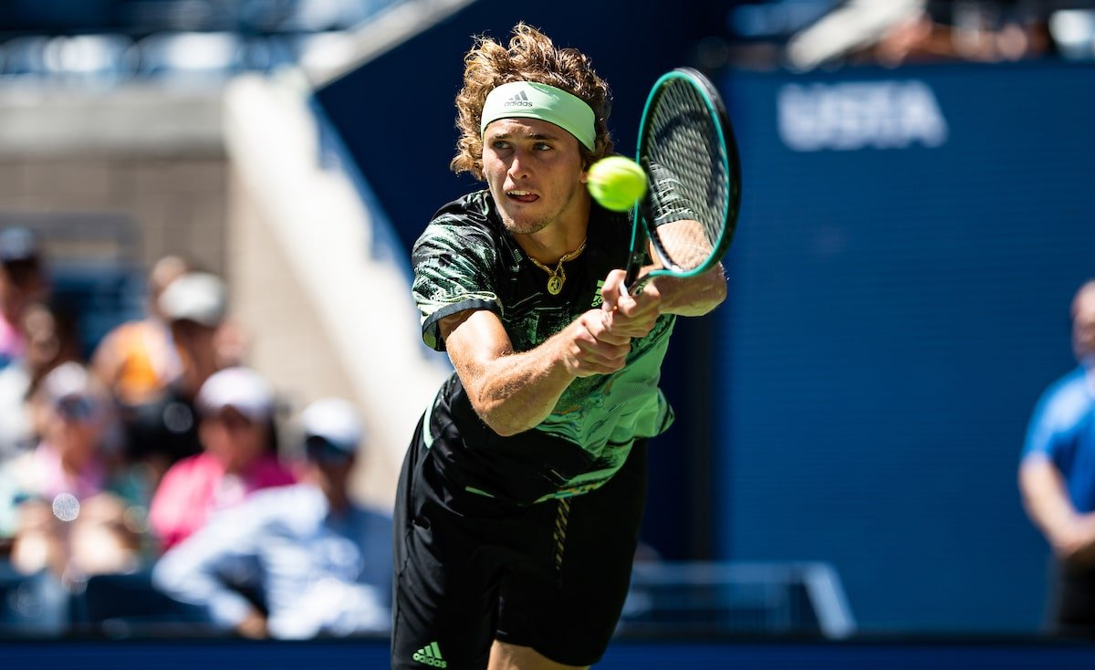 Alexander Zverev at US Open