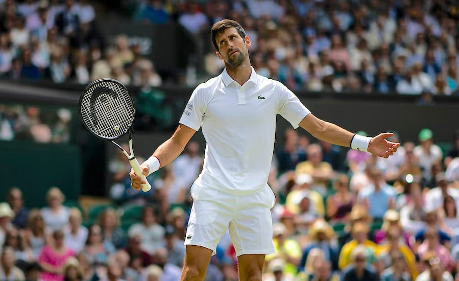 Novak Djokovic weakness revealed