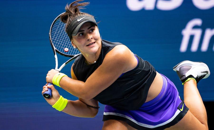 Bianca Andreescu US Open 2019 backhand