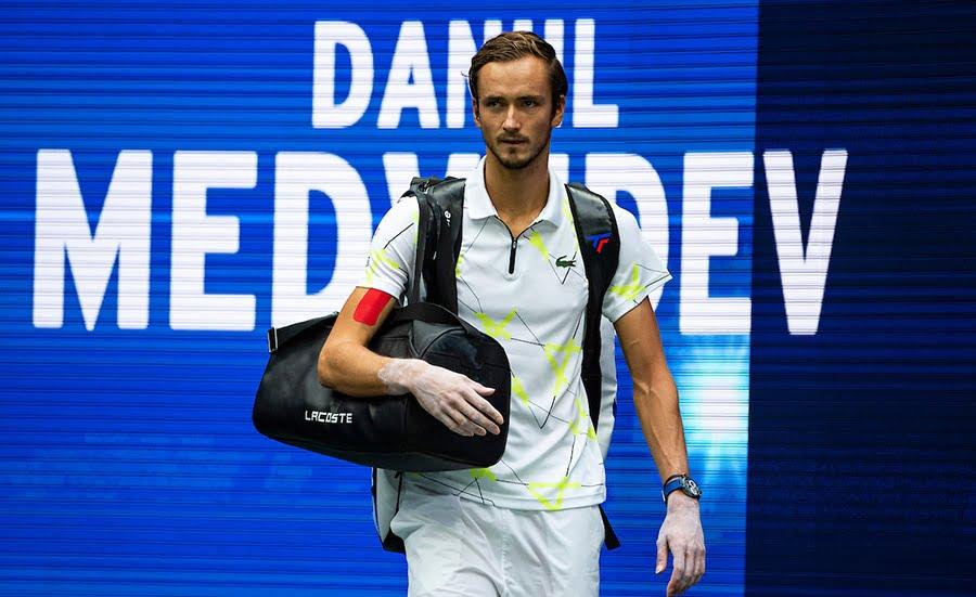 Daniil medvedev walkout US Open