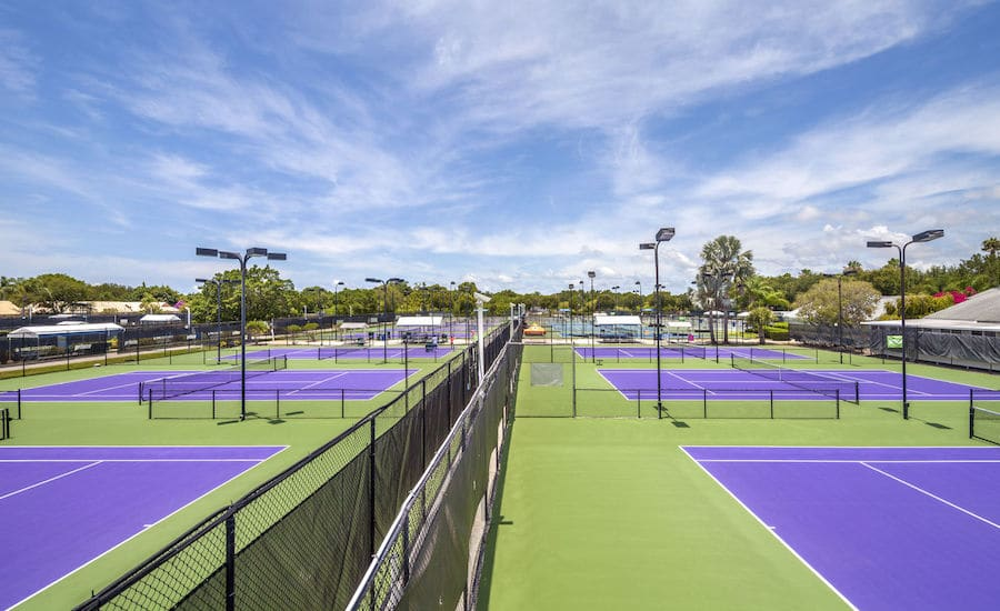 IMG Academy hard courts