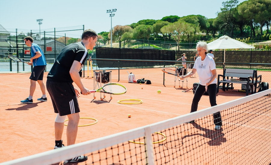Judy Murray tennis camps at The Campus in Portugal