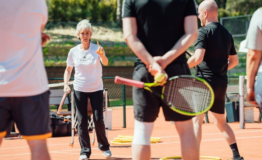 Judy Murray explains how to avoid tennis injuries