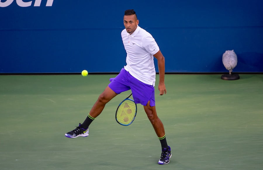 Nick Kyrgios US Open 2019 tweener