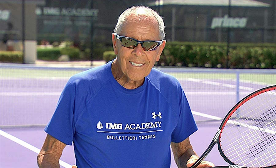 Nick Bollettieri legendary tennis coach to Agassi