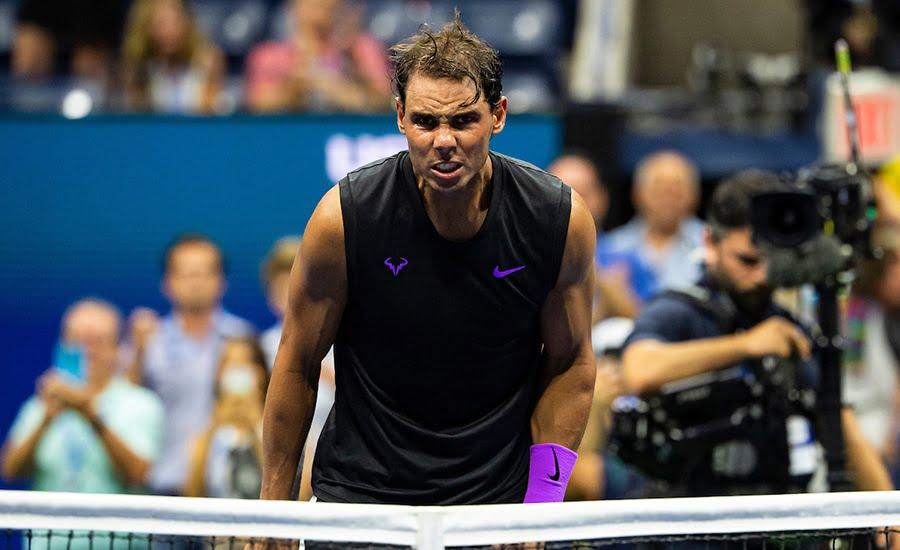 Rafael Nadal intensity