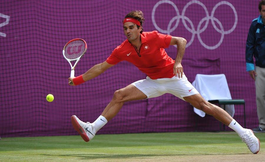 Roger Federer London 2010 Olympics