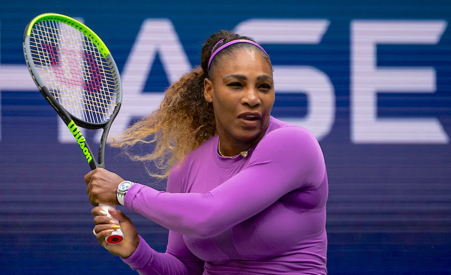 Serena Williams backhand