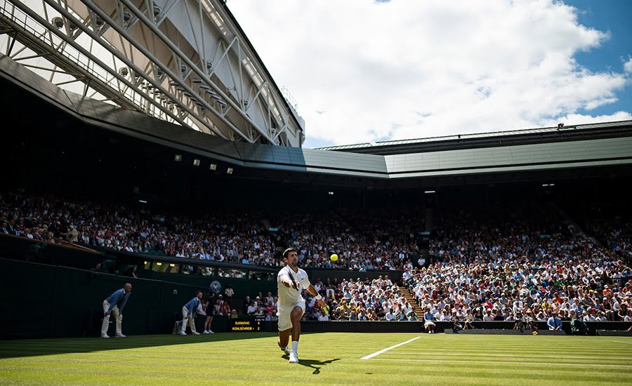 Wimbledon general Novak Djokovic