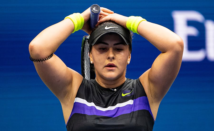 Bianca Andreescu at US Open