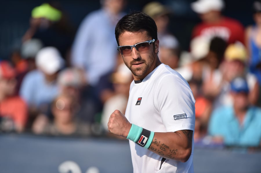 Janko Tipsarevic clenches fist.JPG