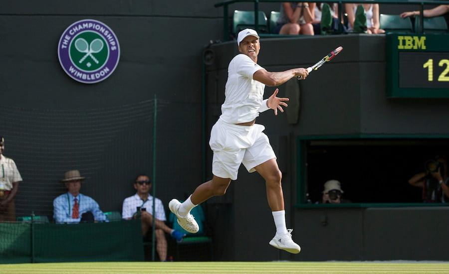Jo Wilfried Tsonga Wimbledon