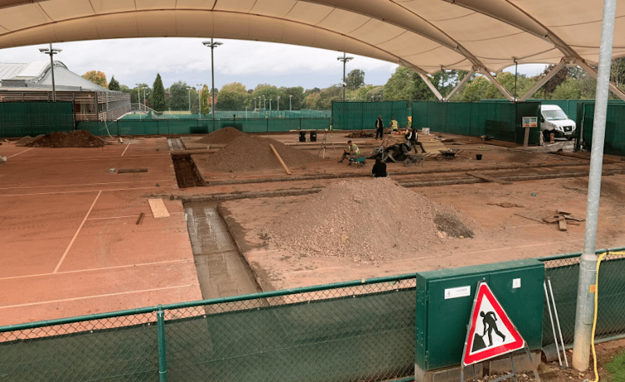 LTA change clay courts to Padel