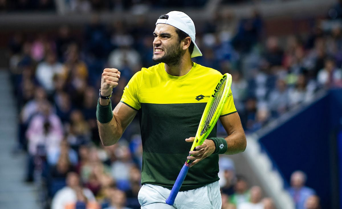 Matteo Berrettini at US Open