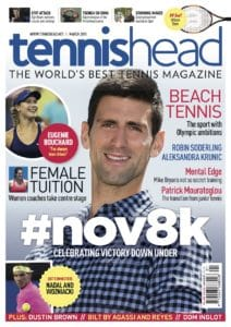 tennishead 2015 issue 1 cover