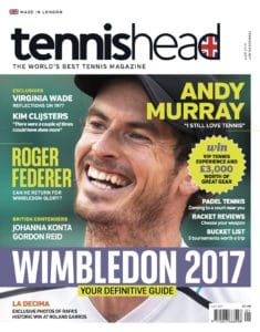 tennishead 2017 issue 1 cover