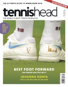 tennishead 2019 issue 2 cover