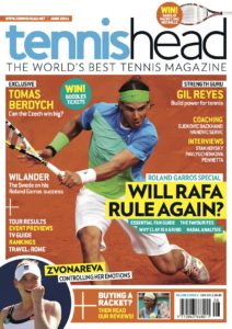 tennishead magazine 2011 issue 2 cover