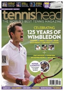 tennishead magazine 2011 issue 3 cover
