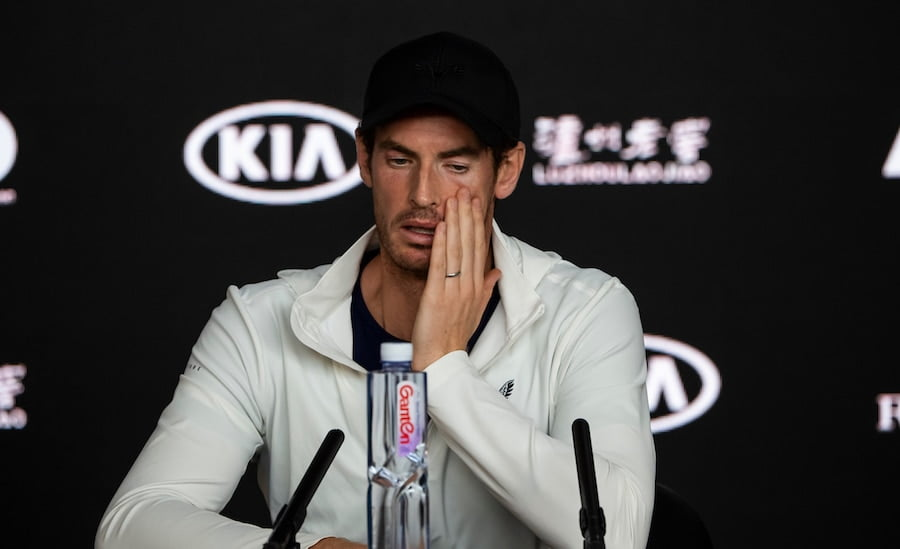 Andy Murray press conference Australian Open 2019