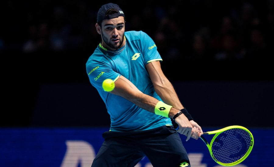 Matteo Berrettini makes Nitto finals history