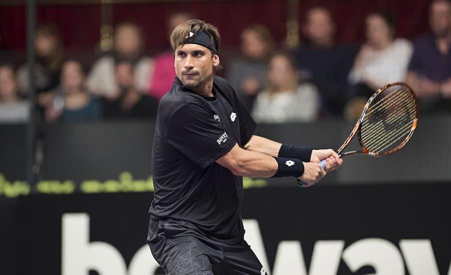 David Ferrer Champions Tennis