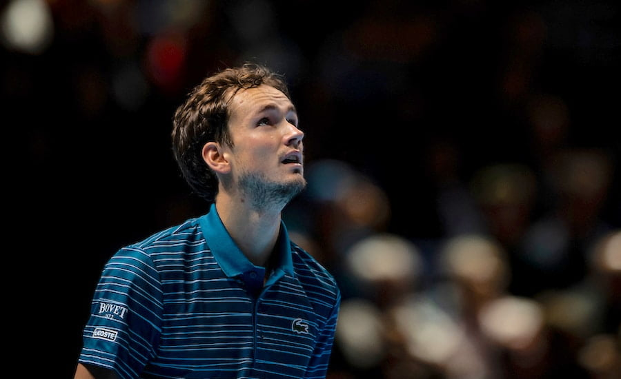 Daniil Medvedev loses at ATP Finals 2019