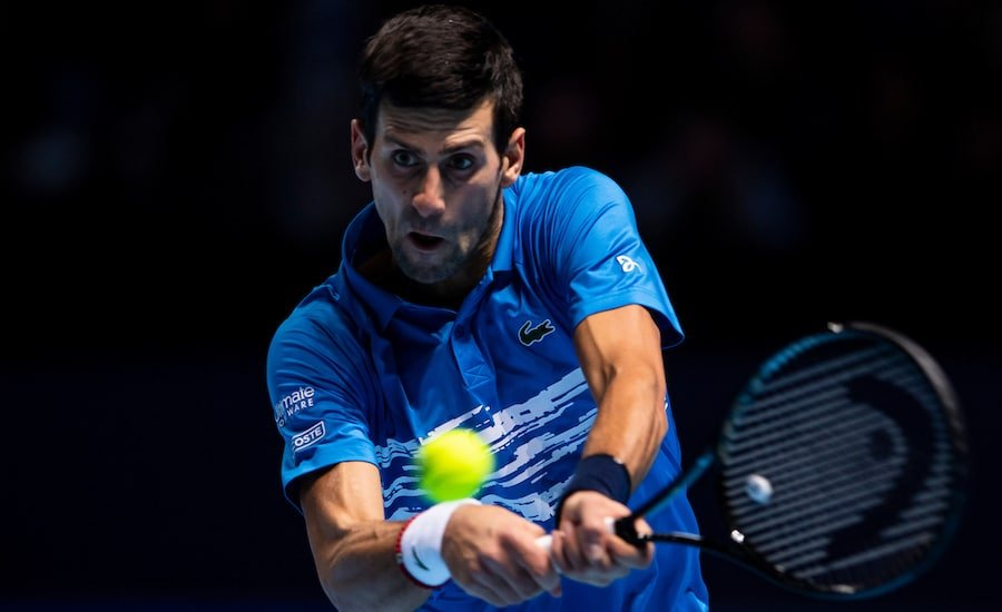 Novak Djokovic 2020 schedule