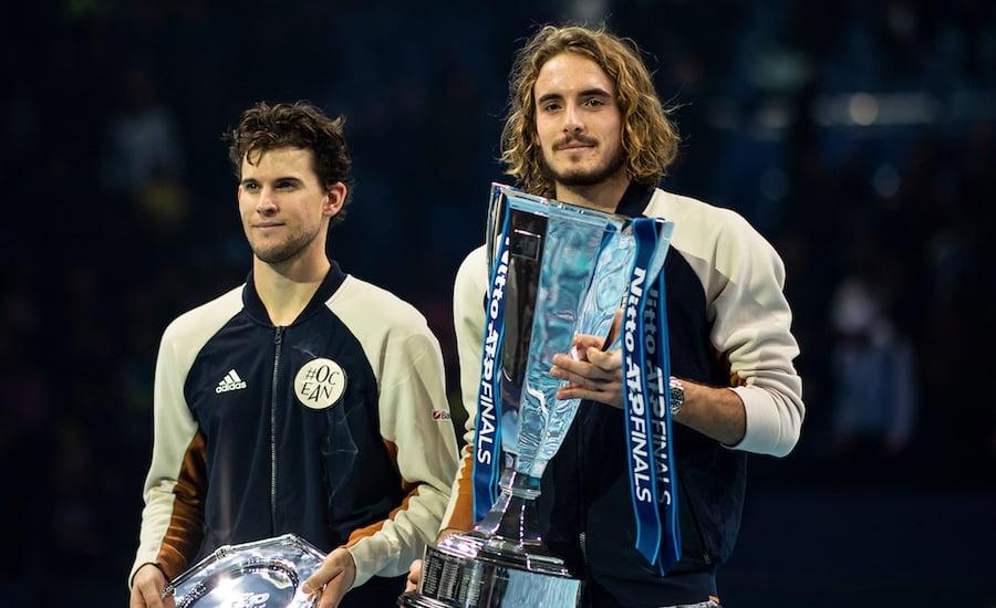 Stefanos Tsitsipas ATP Finals champion 2019