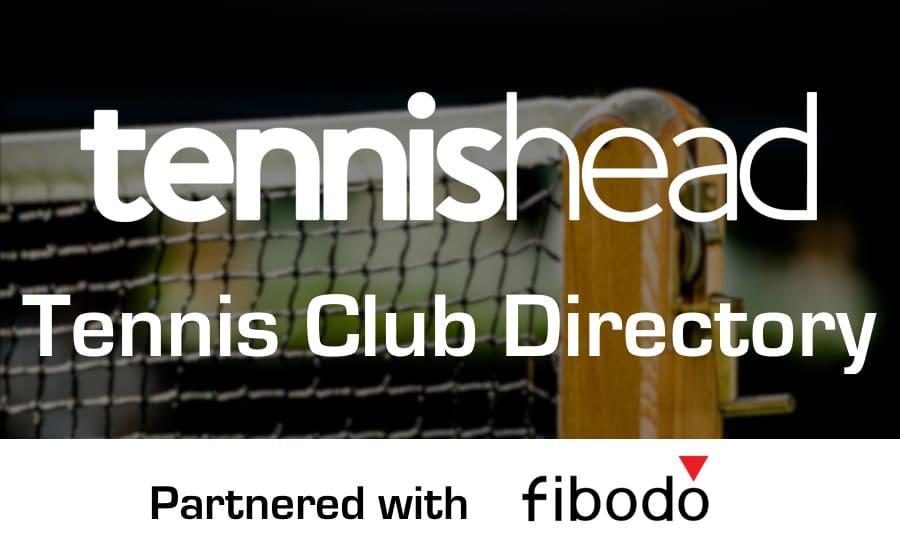 Tennis club directory with fibodo