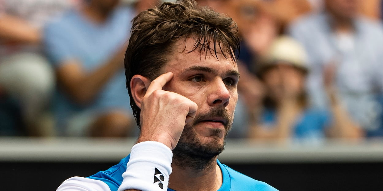 Stan Wawrinka at the 2020 Australian Open