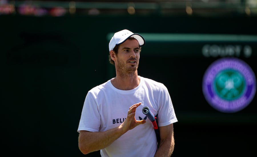 Andy Murray 2020 schedule
