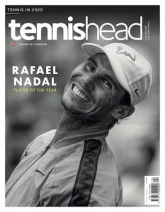 tennishead November 2019 cover