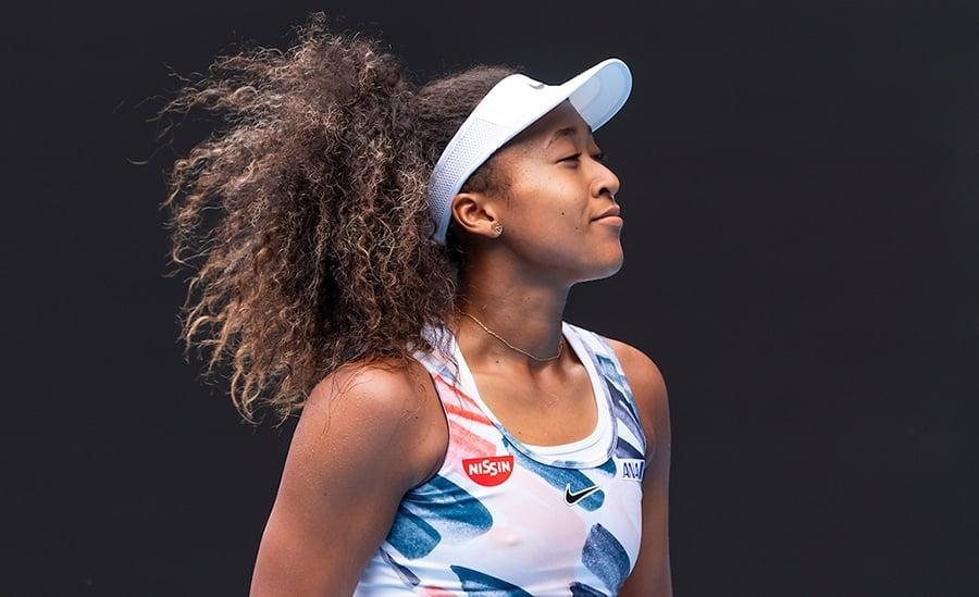Naomi Osaka at Australian Open