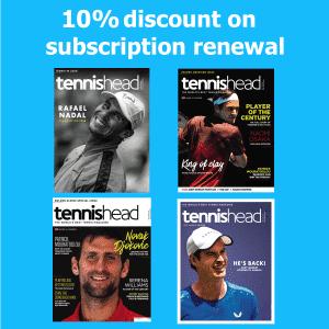 tennishead magazine Renewal print