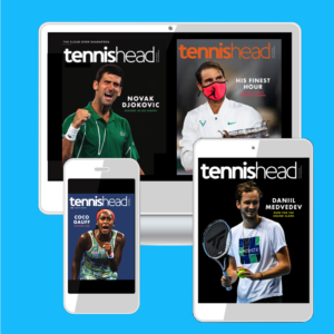Tennishead magazine digital version