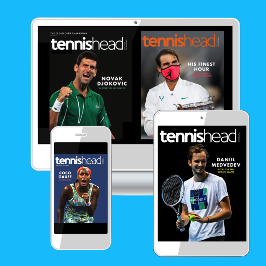 Tennishead magazine digital version
