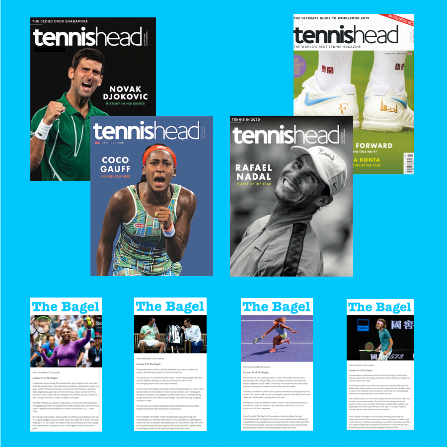 Tennishead magazine susbcription