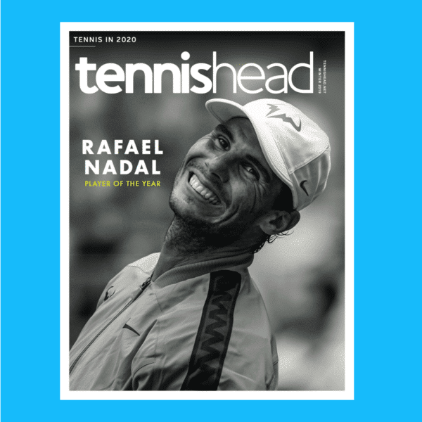 tennishead magazine print November 2019 issue