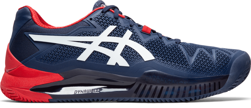 ASICS GEL-RESOLUTON 8 tennis shoe review